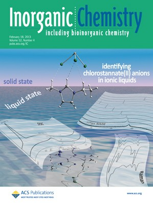 Inorganic Chemistry: Volume 52, Issue 4
