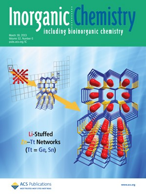 Inorganic Chemistry: Volume 52, Issue 6