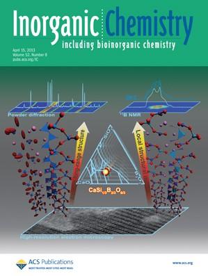 Inorganic Chemistry: Volume 52, Issue 8