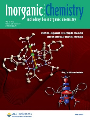 Inorganic Chemistry: Volume 52, Issue 9