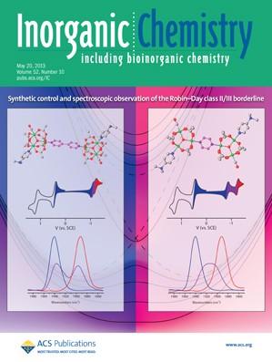 Inorganic Chemistry: Volume 52, Issue 10