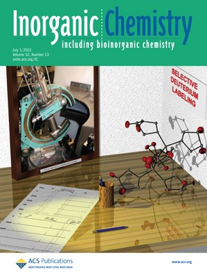 Inorganic Chemistry: Volume 52, Issue 13