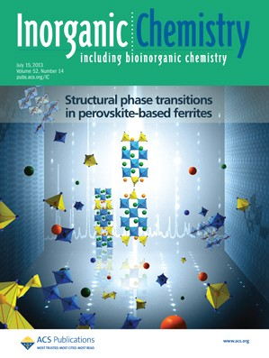 Inorganic Chemistry: Volume 52, Issue 14
