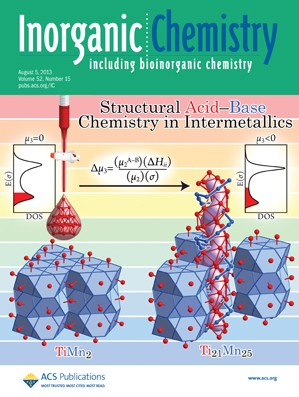 Inorganic Chemistry: Volume 52, Issue 15