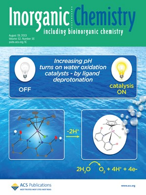Inorganic Chemistry: Volume 52, Issue 16
