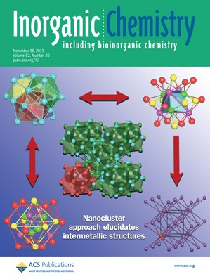 Inorganic Chemistry: Volume 52, Issue 22