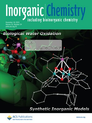 Inorganic Chemistry: Volume 52, Issue 24