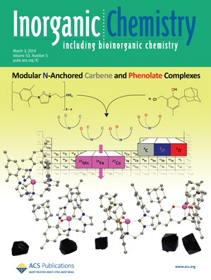 Inorganic Chemistry: Volume 53, Issue 5