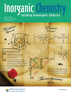 Inorganic Chemistry: Volume 53, Issue 8