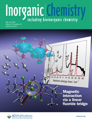 Inorganic Chemistry: Volume 53, Issue 10