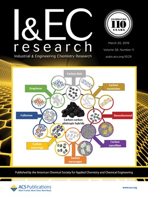 Industrial & Engineering Chemistry Research: Volume 58, Issue 11