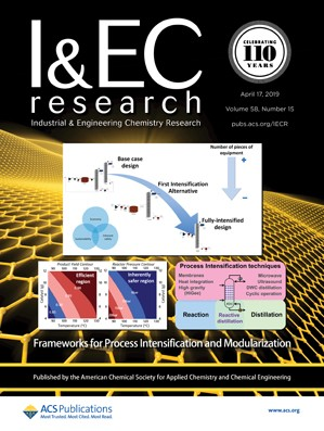 Industrial & Engineering Chemistry Research: Volume 58, Issue 15