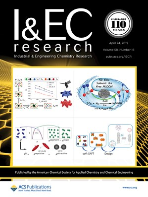 Industrial & Engineering Chemistry Research: Volume 58, Issue 16