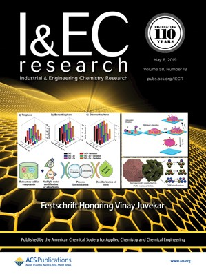 Industrial & Engineering Chemistry Research: Volume 58, Issue 18