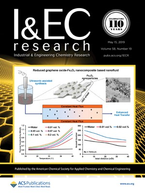 Industrial & Engineering Chemistry Research: Volume 58, Issue 19