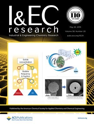 Industrial & Engineering Chemistry Research: Volume 58, Issue 20