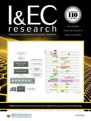 Industrial & Engineering Chemistry Research: Volume 58, Issue 21