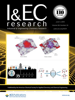 Industrial & Engineering Chemistry Research: Volume 58, Issue 22