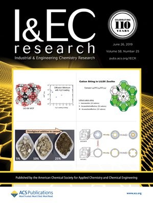 Industrial & Engineering Chemistry Research: Volume 58, Issue 25