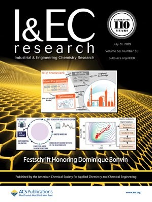 Industrial & Engineering Chemistry Research: Volume 58, Issue 30