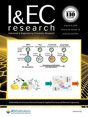 Industrial & Engineering Chemistry Research: Volume 58, Issue 32