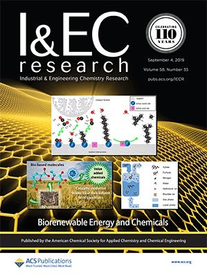 Industrial & Engineering Chemistry Research: Volume 58, Issue 35