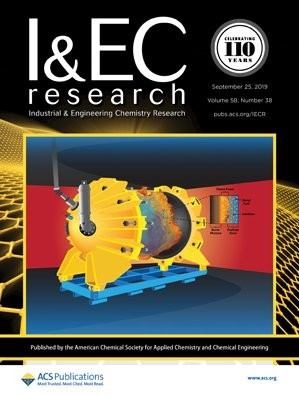 Industrial & Engineering Chemistry Research: Volume 58, Issue 38