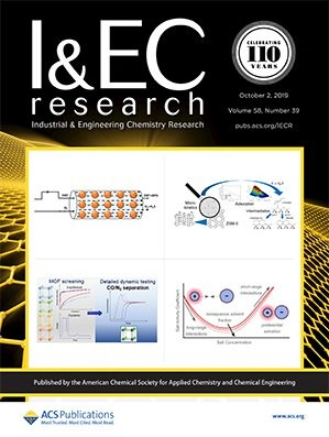 Industrial & Engineering Chemistry Research: Volume 58, Issue 39