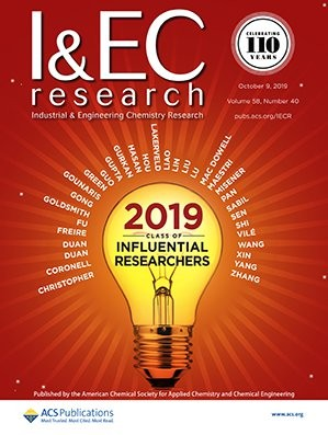 Industrial & Engineering Chemistry Research: Volume 58, Issue 40
