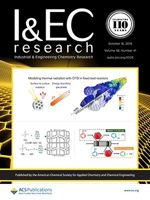 Industrial & Engineering Chemistry Research: Volume 58, Issue 41