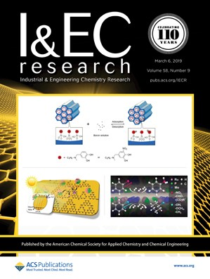 Industrial & Engineering Chemistry Research: Volume 58, Issue 9