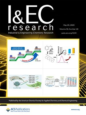 Industrial & Engineering Chemistry Research: Volume 59, Issue 20