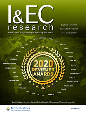 Industrial & Engineering Chemistry Research: Volume 59, Issue 36