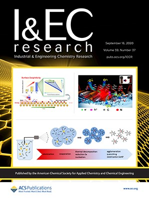 Industrial & Engineering Chemistry Research: Volume 59, Issue 37