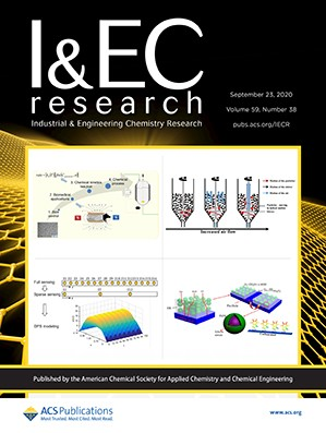 Industrial & Engineering Chemistry Research: Volume 59, Issue 38