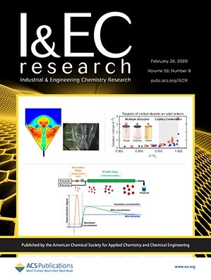 Industrial & Engineering Chemistry Research: Volume 59, Issue 8