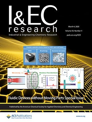 Industrial & Engineering Chemistry Research: Volume 59, Issue 9