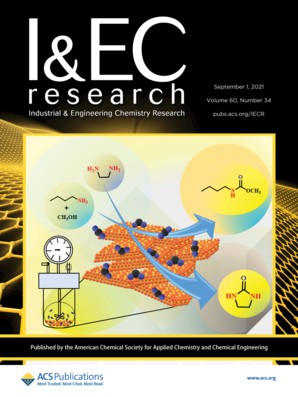Industrial & Engineering Chemistry Research: Volume 60, Issue 34
