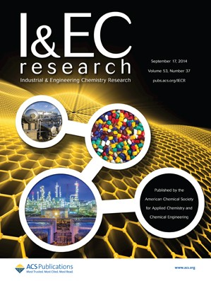 Industrial & Engineering Chemistry Research: Volume 53, Issue 37