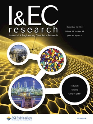 Industrial & Engineering Chemistry Research: Volume 53, Issue 49