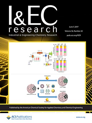 Industrial and Engineering Chemistry Research: Volume 56, Issue 22