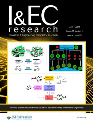 Industrial and Engineering Chemistry Research: Volume 57, Issue 14