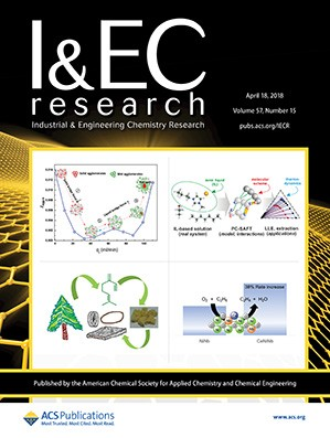 Industrial and Engineering Chemistry Research: Volume 57, Issue 15
