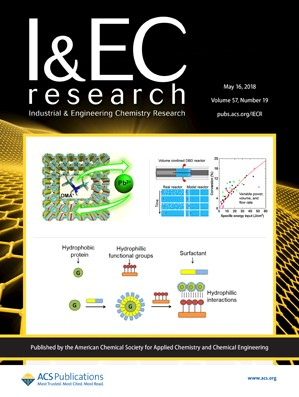 Industrial and Engineering Chemistry Research: Volume 57, Issue 19