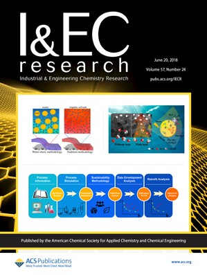 Industrial and Engineering Chemistry Research: Volume 57, Issue 24