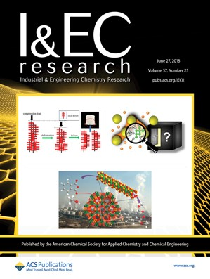 Industrial and Engineering Chemistry Research: Volume 57, Issue 25