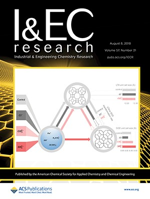 Industrial and Engineering Chemistry Research: Volume 57, Issue 31