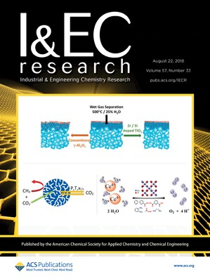 Industrial and Engineering Chemistry Research: Volume 57, Issue 33