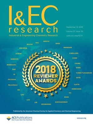 Industrial and Engineering Chemistry Research: Volume 57, Issue 36