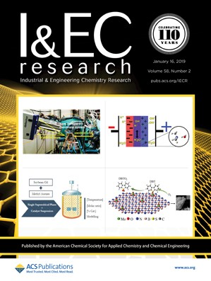 Industrial and Engineering Chemistry Research: Volume 58, Issue 2